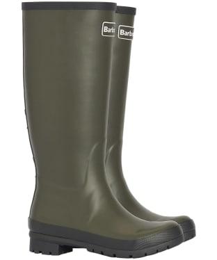 Women's Barbour Abbey Wellington Boots - Olive
