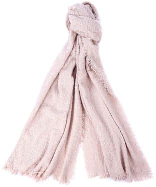 Women's Barbour Megan Boucle Wrap - Pink