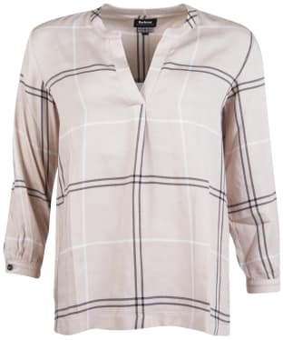 Women's Barbour Earn Shirt - Cream
