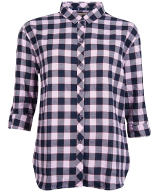 Women's Barbour Cassins Shirt - Orchid Check