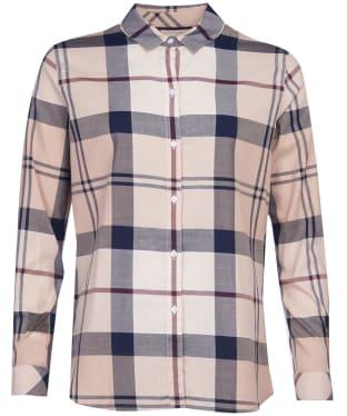 Women's Barbour Moorland Shirt - Pearl Check