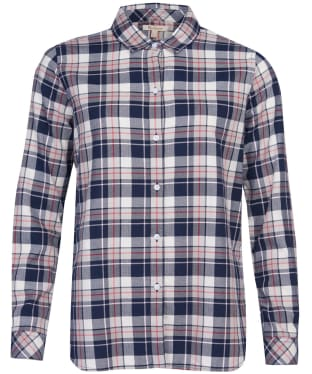 Women's Barbour Stokehold Shirt - Navy Check