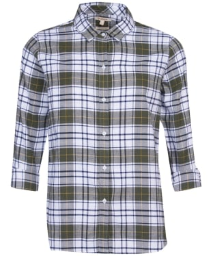 Women's Barbour Moors Shirt - Olive Check