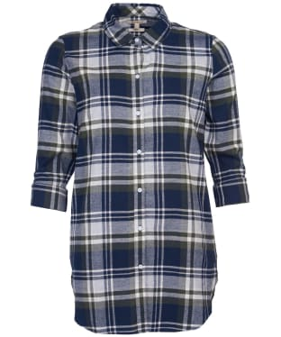 Women's Barbour Windbound Shirt - Olive Check