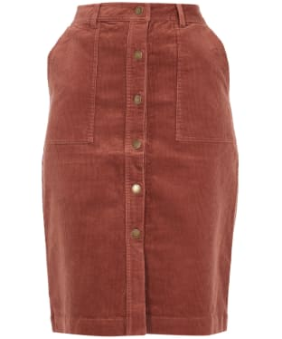 Women's Barbour Rebecca Skirt - Toffee