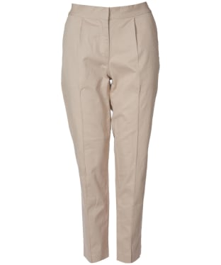 Women's Barbour Monteith Trousers - Oatmeal