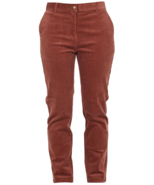 Women's Barbour Essential Cord Chinos - Toffee