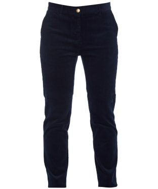 Women's Barbour Essential Cord Chinos - Navy