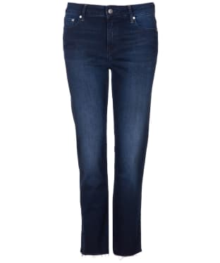 Women's Barbour Fell Straight Jeans - Dark Wash