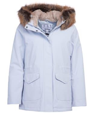 Women's Barbour Bournemouth Waterproof Jacket - Gray Dawn