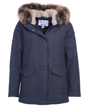 Women's Barbour Bournemouth Waterproof Jacket - Dark Navy
