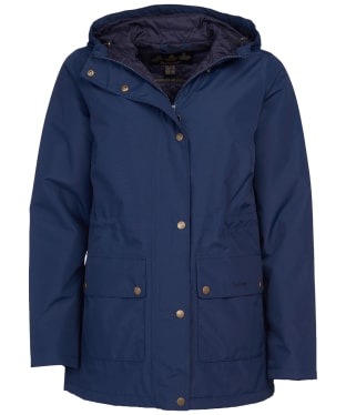 Women's Barbour Oak Waterproof Jacket - Navy