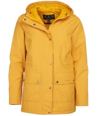 Women's Barbour Oak Waterproof Jacket - Ochre