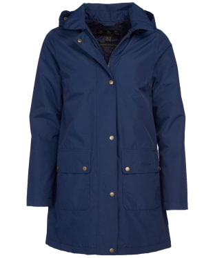 Women's Barbour Pines Waterproof Jacket - Navy