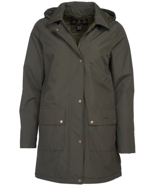 Women's Barbour Pines Waterproof Jacket - Olive