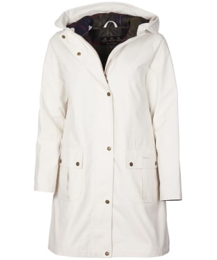 Women's Barbour Linwood Waterproof Jacket - Winter Pearl