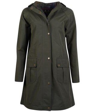 Women's Barbour Linwood Waterproof Jacket - Olive