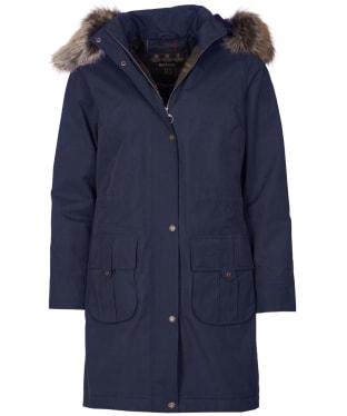 Women's Barbour Lynn Waterproof Jacket - Navy