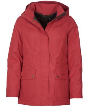 Women's Barbour Lockwood Waterproof Jacket - Claret