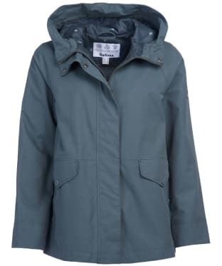 Women's Barbour Mersey Waterproof Jacket - Isle Green