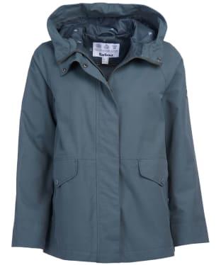 Women's Barbour Mersey Waterproof Jacket - Isle Green