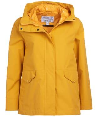Women's Barbour Mersey Waterproof Jacket - Ochre