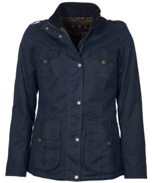 Women's Barbour Winter Defence Waxed Jacket