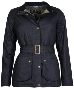Women's Barbour Montgomery Waxed Jacket