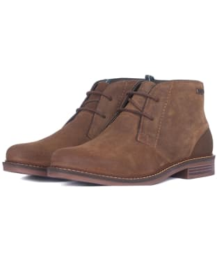 Men's Barbour Readhead Chukka Boots - Brown Suede