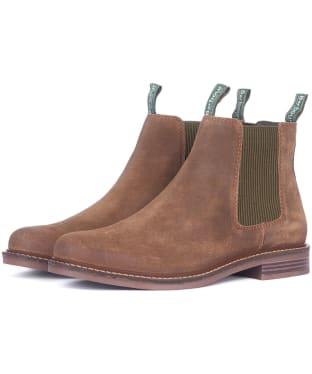 Men's Barbour Farsley Chelsea Boot - Brown Suede