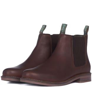 Men's Barbour Farsley Chelsea Boots - Teak