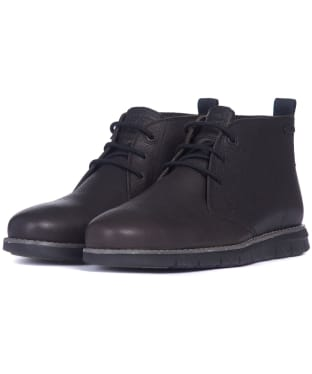 Men's Barbour Burghley Boots - Black
