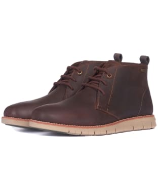 Men's Barbour Burghley Boots - Teak