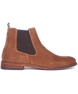 Men's Barbour Bedlington Suede Chelsea Boots - Cognac Suede