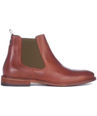 Men's Barbour Bedlington Leather Chelsea Boots - Tan