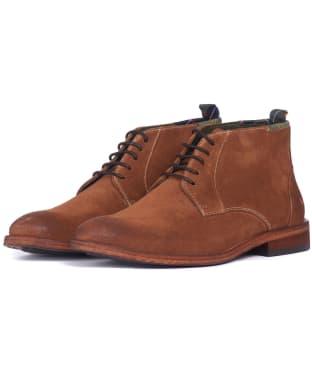 Men's Barbour Benwell Suede Chukka Boot - Cognac Suede