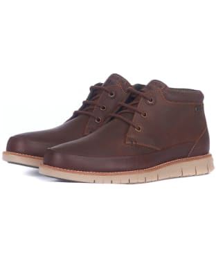 Men's Barbour Nelson Chukka Boots - Teak