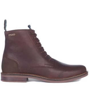 Men's Barbour Seaham Derby Boots - Teak