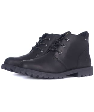 Men's Barbour Pennine Chukka Boots - Black