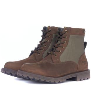Men's Barbour Cheviot Derby Boots - Brown