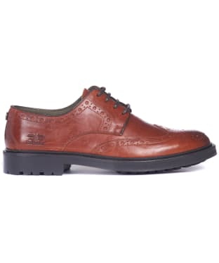 Men's Barbour Ouse Brogue Shoes - Chestnut