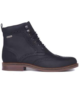 Men's Barbour Seaton Derby Shoes - Black