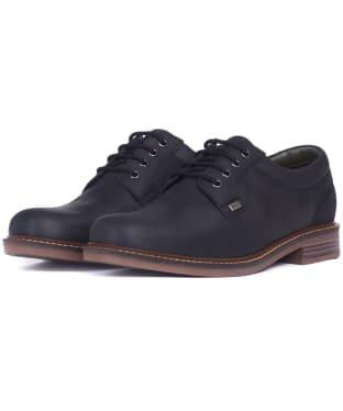 Men's Barbour Herrington Leather Derby Shoes - Black