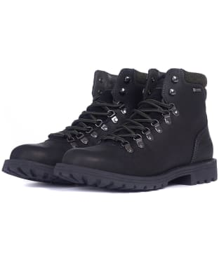 Men's Barbour Quantock Hiker Boots - Black