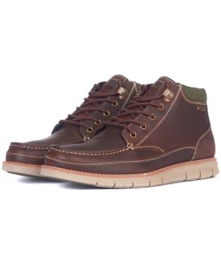 Men's Barbour Victory Chukka Boots - Teak