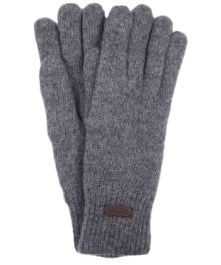Men's Barbour Carlton Gloves - New Grey