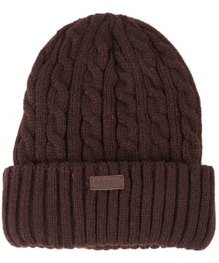 Men's Barbour Balfron Knit Beanie - Brown