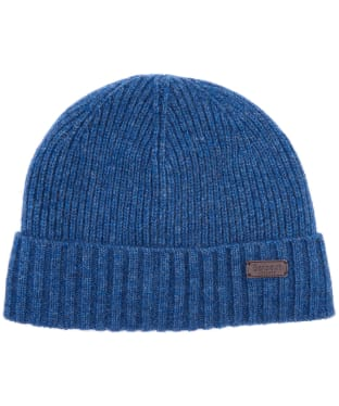 Men's Barbour Carlton Beanie Hat - Dark Denim