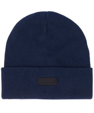 Men's Barbour International Sensor Knit Beanie Hat - Navy