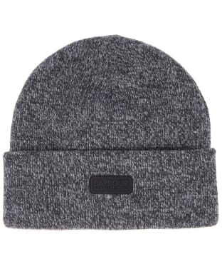 Men's Barbour International Twisted Sensor Beanie Hat - Black/Inky Blue